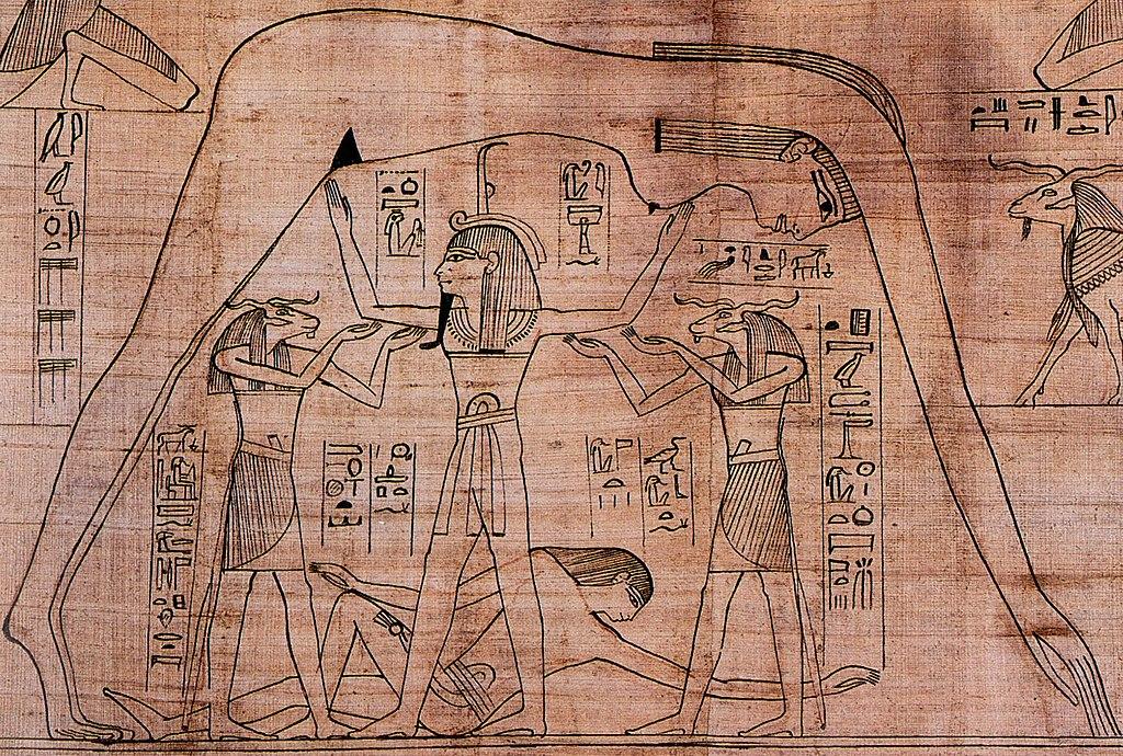 'Libro de los Muertos' de Nesitanebtashru; 950 a. C