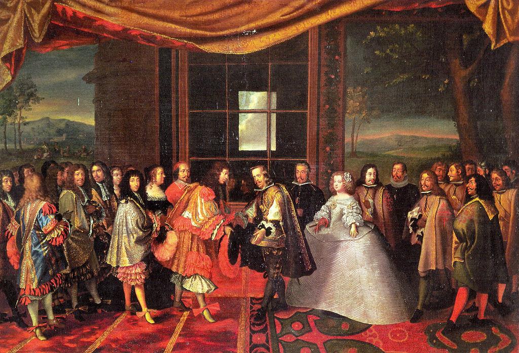 Firma del Tratado de Los Pirineos