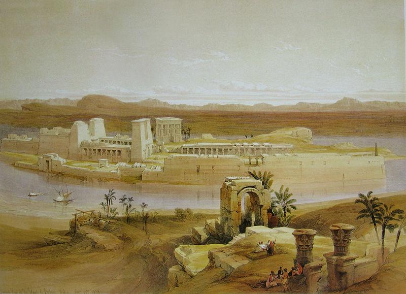Templo de File, Egipto.
