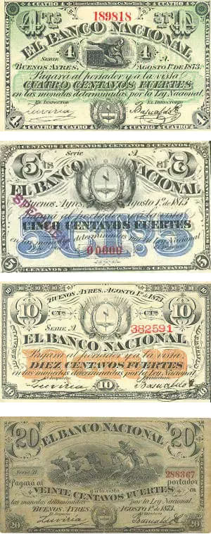 Billetes 1873